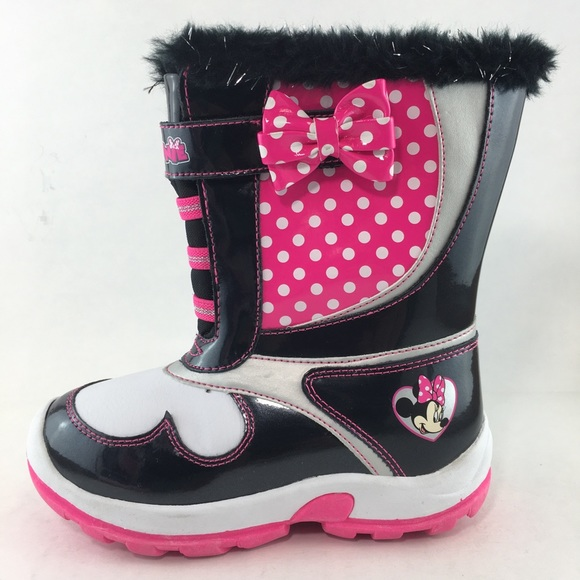 Disney Shoes | Minnie Mouse Boots Girls
